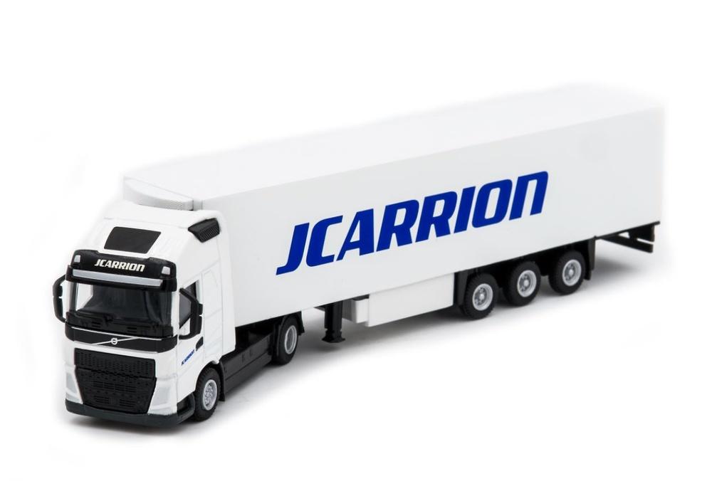 Volvo FH4 + trailer frigo JCarrion Wsi Models escala 1/87