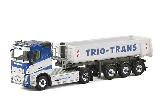 Volvo FH4 + volquete trailer - Trio Trans - Wsi Models
