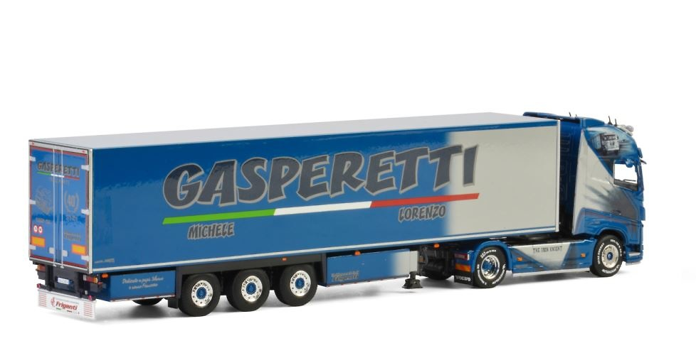 Volvo FH4 Globetrotter XL Gasperetti Wsi Model 2630 escala 1/50