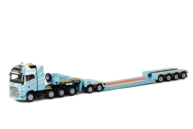 Volvo FH4 XL + Nooteboom 4 + 2 ejes ICP - Cepelludo Wsi Models 1613
