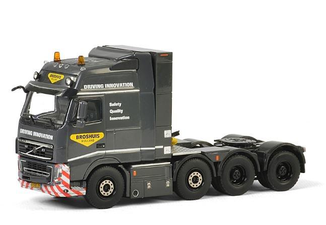 Volvo Fh3 Globetrotter XXL Broshuis Wsi Models escala 1/50