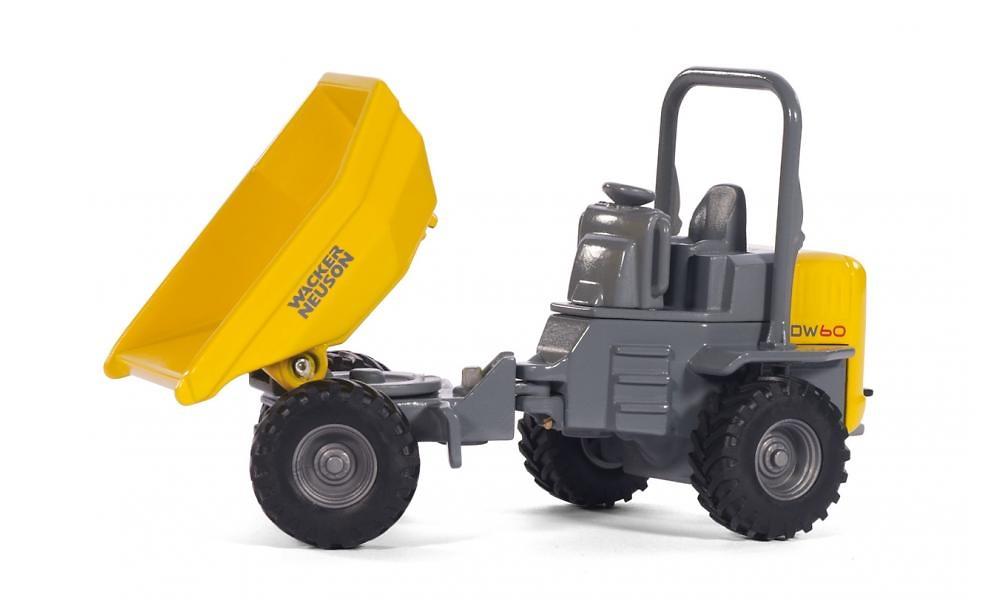 Wacker Neuson DW60 Dumper Siku 3509 escala 1/50