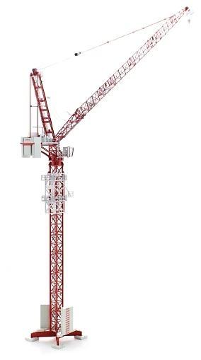 Wolffkran 700 B Grúa Torre, Conrad Modelle escala 1/87