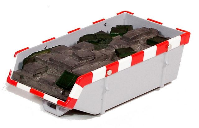 accesorio de carga para contenedor del modelo 59455 de tekno 60378 escala 1/50