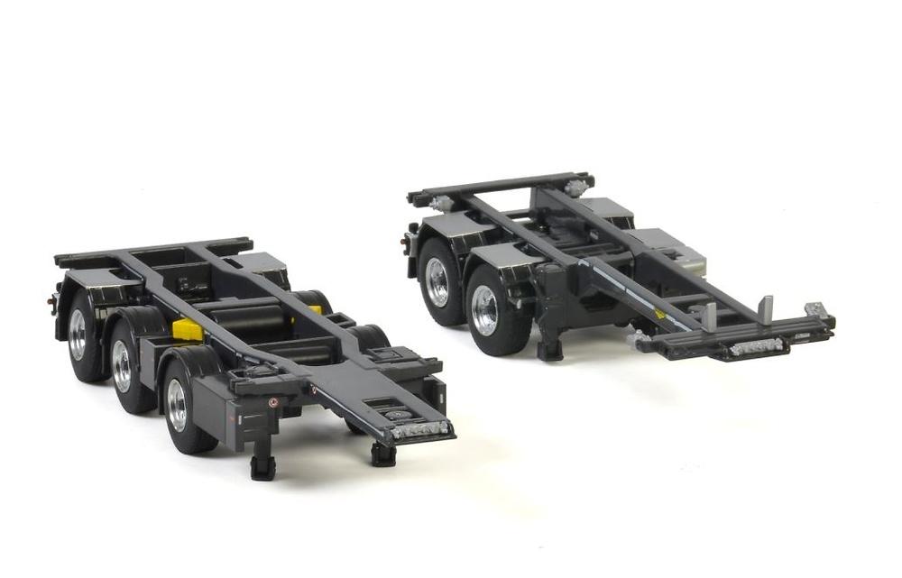 broshius connect combi trailer 2+3 Wsi Models 04-2072 escala 1/50