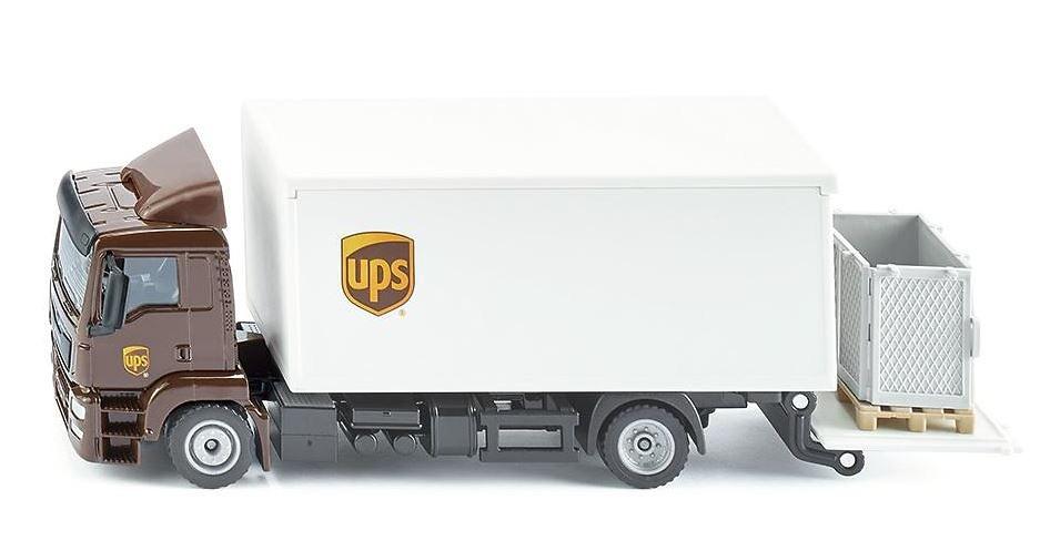 camion MAN Ups de reparto Siku 1997 escala 1/50