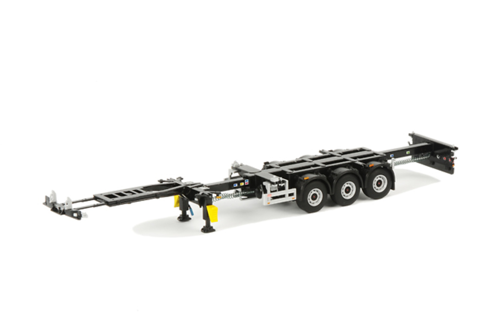 chasis container trailer, Wsi Models 03-1010 escala 1/50