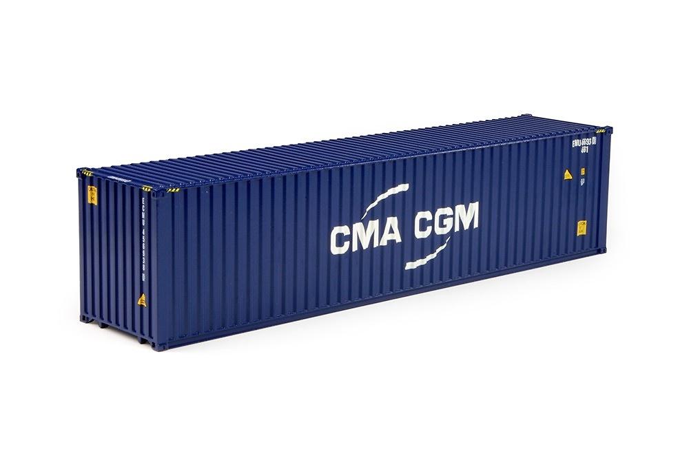contenedor 40 pies CMA-CGM Tekno 70483 escala 1/50