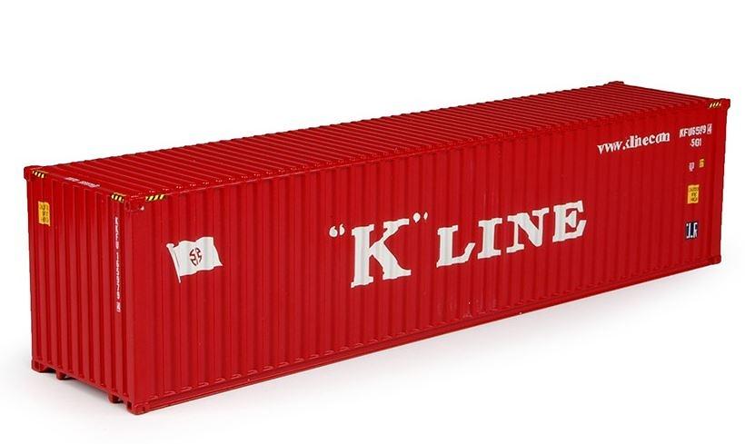 contenedor 40 pies K-Line Tekno 68920 escala 1/50