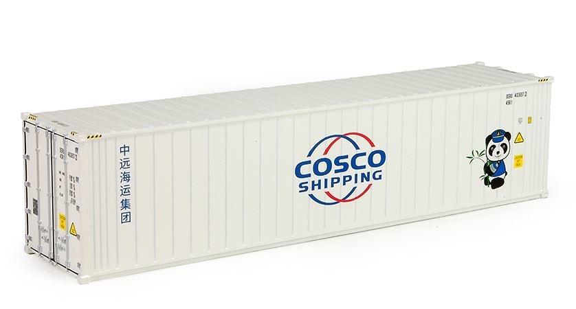 contenedor 40 pies cosco shipping Tekno 76195 escala 1/50
