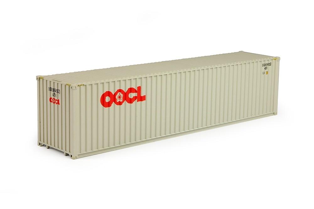contenedor 40 pies oocl Tekno 70481 escala 1/50