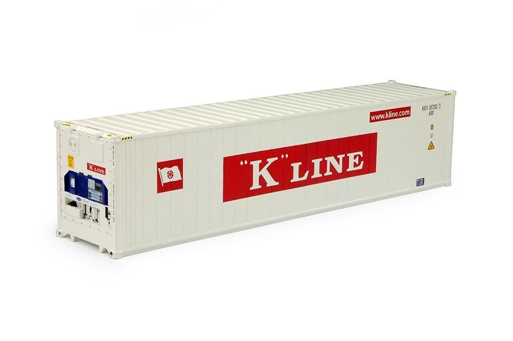 contenedor frigo 40 pies K-Line Tekno 70484 escala 1/50