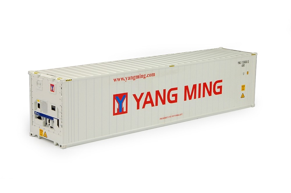 contenedor frigo 40 pies Yang Ming Tekno 70480 escala 1/50
