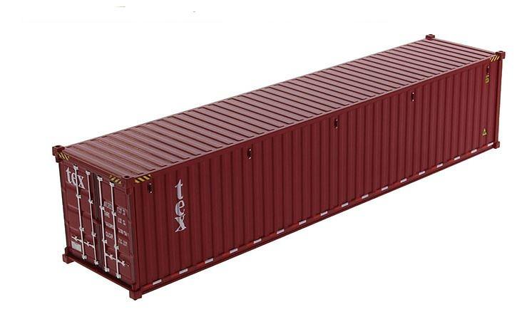 contenedor maritimo 40 pies - Diecast Masters 91027a