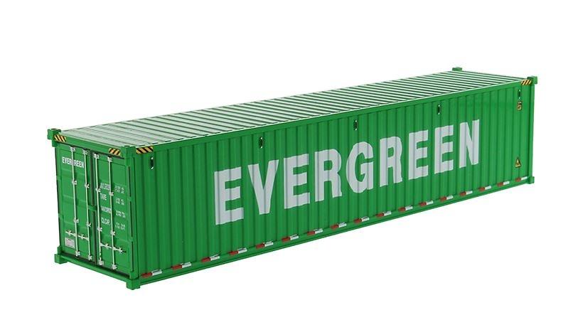 contenedor maritimo 40 pies - Evergreen - Diecast Masters 91027D
