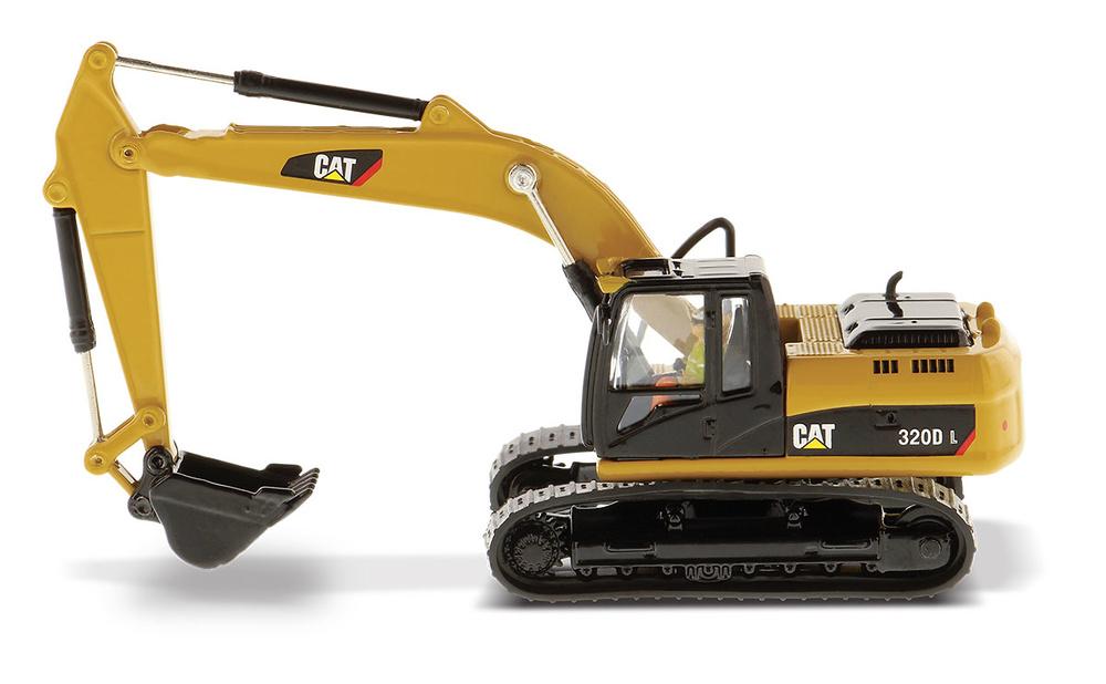 excavadora Cat 320DL Diecast Masters 85262 escala 1/87
