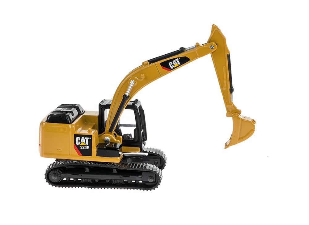 excavadoras Cat 320e - Toy State 39511 - escala 1/90