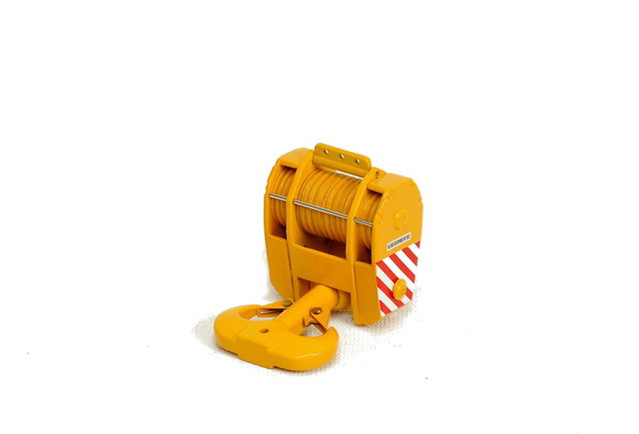 gancho grua Liebherr - con 15 poleas amarillo 350 ton, Ycc 1/50