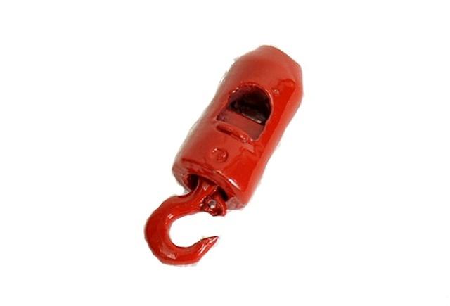 gancho grua rojo 3 ton, Ycc 1/50