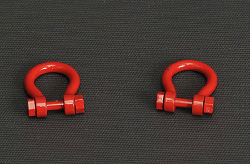 grilletes 500 t set 2 ud rojo, Ycc Models yc638-1 escala 1/50