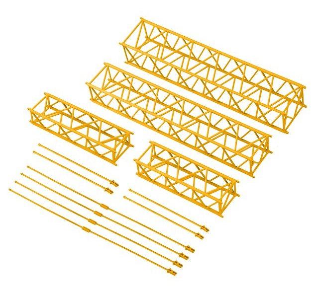 lattice jib extention set 36m para Liebherr LTM 11200 9.1, Nzg 732/3 escala 1/50