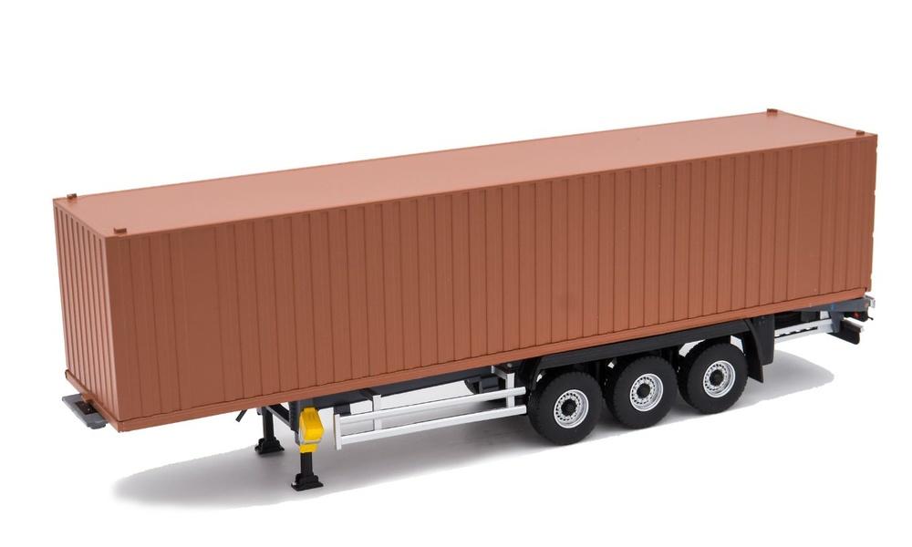 plataforma contenedor 3 ejes Eligor 115995 escala 1/43