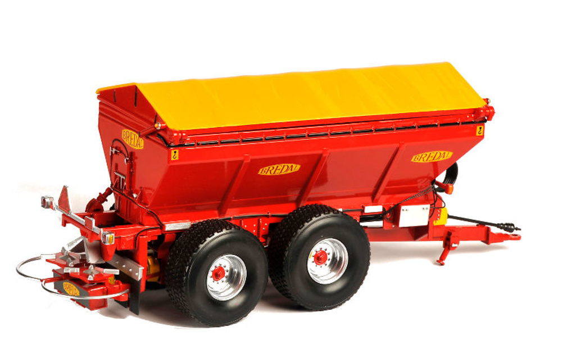 remolque Bredal k165 Ros Agritec 60216 escala 1/32