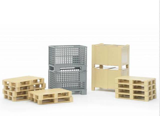 set logistico Bruder 02415 escala 1/16