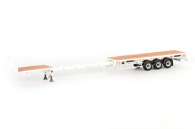 trailer cama baja 3-ejes, Wsi Models 03-1121 escala 1/50