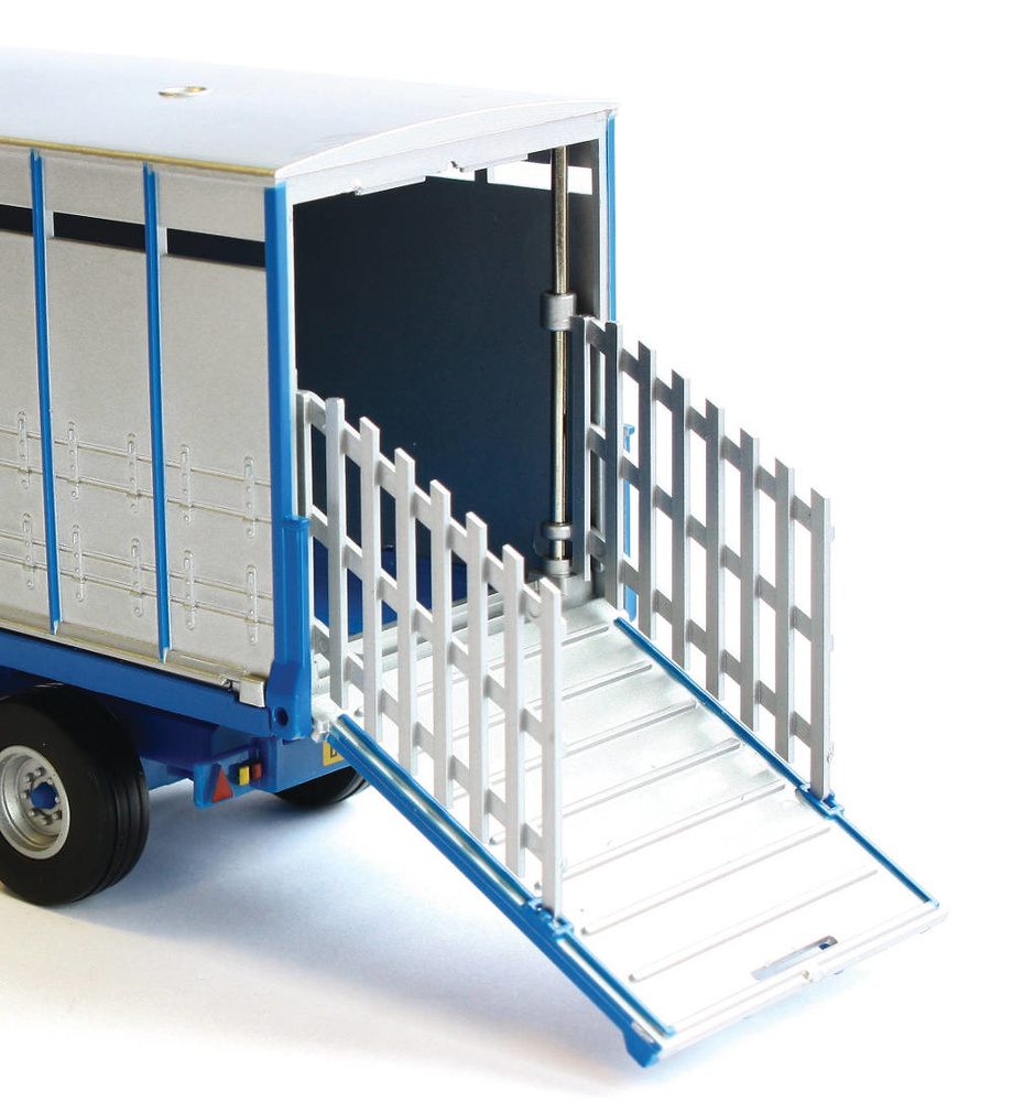 transporte animales - remolque ganado Britains 42765 escala 1/32