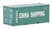 20 pies contenedor China Shipping Wsi Models 04-2036 escala 1/50