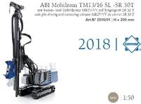Abi Tm 13/16 SL Mobilram en base SR 30 T Conrad Modelle 2516 escala 1/50