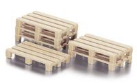Accesorio palets 50 unidades, Siku 7015 escala 1/32