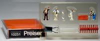 Albañiles - obreros con accesorios Preiser 10251