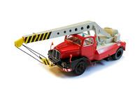 Autodrehkran ADK 6.3 Feuerwehr Brekina 60002 Masstab 1/87