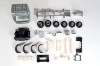 Bausatz Volvo Globetrotter 6x2 Tekno 55361 Masstab 1/50