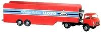 Borgward B 655 transporte coches Brekina 43204