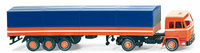 Buessing BS16L Camion Trailer, Wiking 8493938 escala 1/87