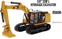Cat 320F excavadora Diecast Masters 85606 escala 1/64