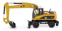 Cat M318 D Excavadora Ruedas Diecast Masters 85177 escala 1:87