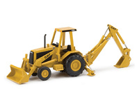 Caterpillar 416 Backhoe Loader, Norscot 55271 Masstab 1/32