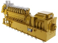 Caterpillar CG260-16 Gas Engine Generador Diecast Masters escala 1/25