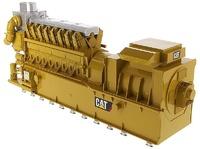 Caterpillar CG260-16 Gas Engine Generador Diecast Masters escala 1/25