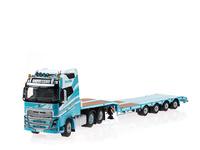 Cepelludo - Volvo FH4 + nooteboom plataforma Wsi Models 01-1797