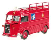 Citroen type H Feuerwehr Michelin Altaya 1/43