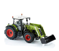Claas Arion 650 con cargadora Wiking 7325 escala 1/32
