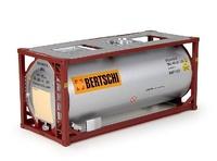 Container 20ft Iso Bertschi Tekno 73303 Masstab 1/50