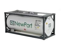 Contenedor 20pies Iso Newport Tekno 75529 escala 1/50