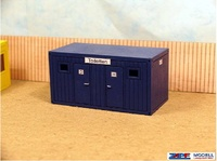 Contenedor sanitario obra para montar y pintar, Zapf Modell 5007803 escala 1/50