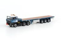 DAF 3300 6x4 remolque plataforma 3 ejes Sarens, Wsi Models 1/50 15-1009